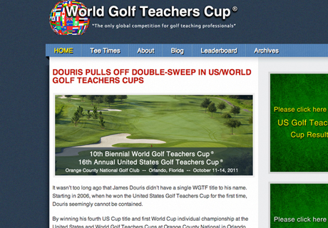 World Golf Teachers Cup